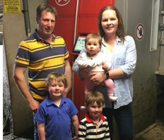 Future paved out with Robotics for Laois farm family