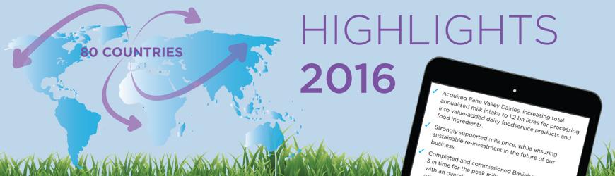 Lakeland Dairies reports 2016 Results