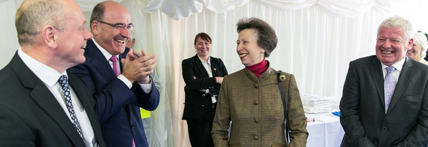 HRH Anne, The Princess Royal opens new £5m high-tech product packing facility