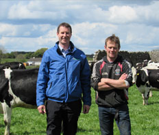 Westmeath Dairy Farmer Improves Feed Efficiency by 25%