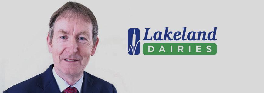 Liam Larkin co-opted onto Lakeland Dairies Board