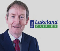 Liam Larkin co-opted onto Lakeland Dairies Board