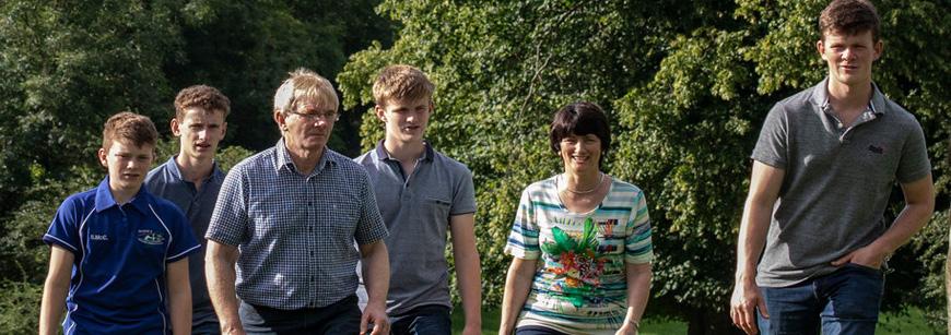 Lakeland Dairies congratulates award-winning Monaghan farm family