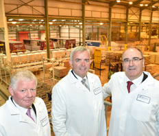 Minister Bell opens Major new Global Logistics Centre for Lakeland Dairies in Newtownards
