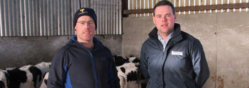 """""""Calves are much stronger and exceeding target weaning weights,"""" says Westmeath Farmer"""
